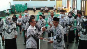 H Yana, Terpilih Sebagai Ketua PGRI Cabang Kecamatan Cijulang