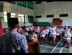 Dodi Djubardi Buka Konferensi PGRI Cabang Kecamatan Langkaplancar