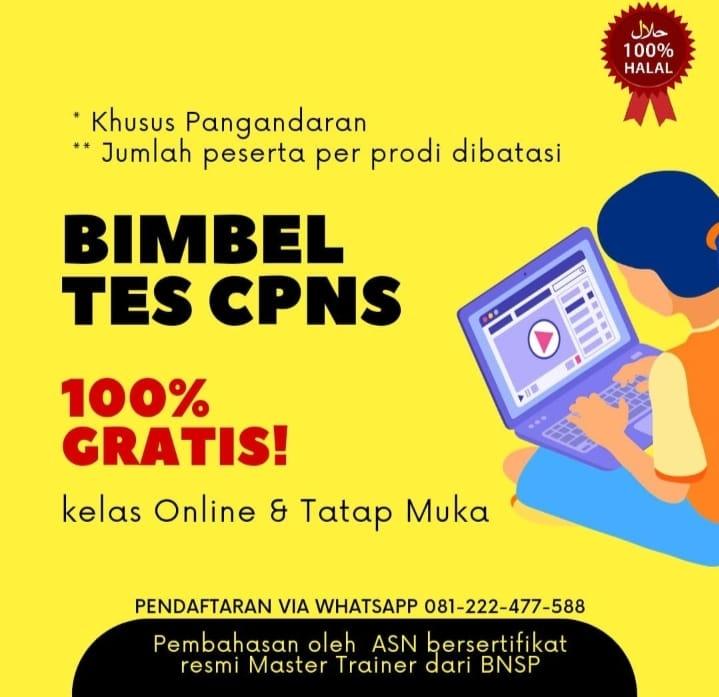 Bimbel Tes CPNS Pangandaran