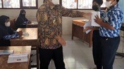 Bupati Kabupaten Pangandaran Monitoring Proses Pembelajaran Tatap Muka di Masa Pandemi
